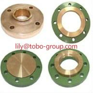 Buy cheap CuNi 90/10 Copper Nickel Slip on Flanges EEMUA 145/ANSI/ASME B16.5 from wholesalers