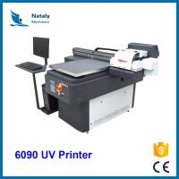 Buy cheap CE certificate a1 size digital flat bed 3d apex 60*90 uv led 3d ceramic tile making printer machine from wholesalers