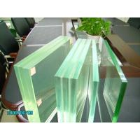 Buy cheap Safety glass laminated glass clear colored glass for building manufacture price from wholesalers
