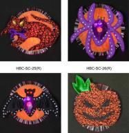 Buy cheap Halloween Fiber Optic Electronic Brooches from wholesalers
