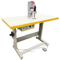 Buy cheap Face Mask Making Machine Ultrasonic Spot Soldering Machine For Face Mask Ear Band from wholesalers