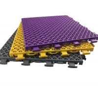 Buy cheap Fire Proof Indoor Sports Flooring Pressure , Impact Resistance With Double Tier Design product