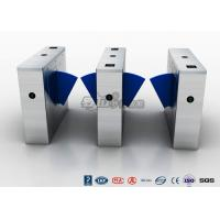 Buy cheap Multi - Lane Half Height Turnstiles , Optical Flap Barrier Access Control Turnstile product