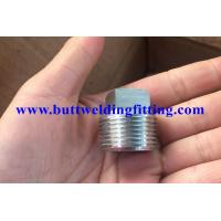 Buy cheap ASTM A694 F42 / F52 / F60 / F65 / F70 ANSI S16.11 Forged Pipe Fittings Hex Head Plug from wholesalers