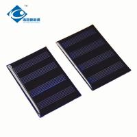 Buy cheap 2V 0.2W Epoxy Solar Panel For Solar Powered Cars ZW-4466 Mini Silicon Solar PV Module from wholesalers