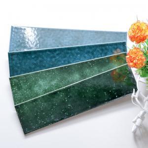 Buy cheap Bathroom Handmade Decorative Wall Tiles Non Slip Handcrafted Ceramic Tiles product