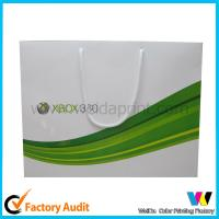 Buy cheap Fancy Design Paper Shopping Bags Luxury Brand Paper Carrier Bag from wholesalers