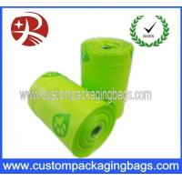 Buy cheap Compostable Green Dog Poop Bags Biodegradable With Side Gusset from wholesalers