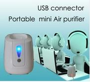 Buy cheap personal mini air purifier with USB connector from wholesalers
