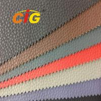 Buy cheap Colorful Durable PU Synthetic Leather , PU Artificial Leather For Car Seat 1.0mm Thick product