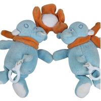 Buy cheap Delicate Hanging Newborn Plush Toys Soft Feeling With Embrodiery Eyes from wholesalers