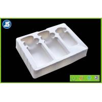 Buy cheap Cosmetic flocking vacuum formed plastic trays blister with Recycled product