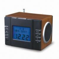 Buy cheap Mini USB Music Box with FM Clock Radio, Suitable for MP3 and MP4 Players from wholesalers