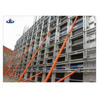 Buy cheap Metal Construction Formwork System Reusable Concrete Formwork 60KN/M2 Working Load product