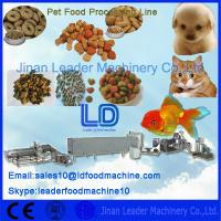 Buy cheap Complete Automatic High Capacity Pet Food Processing line 380v/50Hz from wholesalers