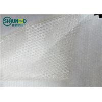Buy cheap Two Layers Adhesive Fusible Web Net With Non Woven Release Paper For Bonding Clothing from wholesalers