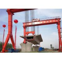 Buy cheap 25 Tons Double Beam Overhead Gantry Crane For Lifting Sands And Stones product