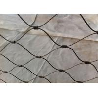 Buy cheap Stainless Steel 304 Black Oxide Wire Rope X Tend Cable 60 Degree Mesh Angle from wholesalers
