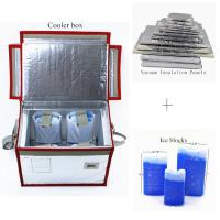 Buy cheap Medicine Vaccine Blood Vacuum Insulated Panel Glass Fiber Material from wholesalers