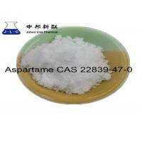 Buy cheap Aspartame CAS 22839-47-0 Synthetic Food Additives Slightly Soluble In Water from wholesalers