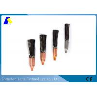 Copper Screw Welding Brush , Carbon Fiber Cleaning Brush For Tig Welding Machine