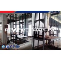 Buy cheap Gray Hydraulic Lift Platform With CE Certification / Fixed Cargo Lift Guide Rail from wholesalers