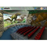 Buy cheap Large 360 Degree Screen 4D Movie Theater With 4D Simulator Can Hold 60-100 People product