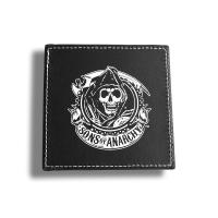 Buy cheap Eco Friendly Custom Drink Coasters Square Leather Coaster Set 103*103*5mm from wholesalers