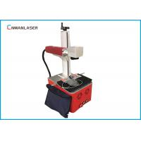 Buy cheap 220V Raycus Fiber Laser Marking Machine For Fabric , Long Service Life from wholesalers