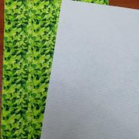Buy cheap Cavort Printed RPET Stitch Bonded Non Woven Insole Board For Shoe Interlining Making from wholesalers