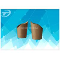 Buy cheap Selectable Printing Disposable Paper Cups For Coffee  / Tea  / Hot Chocolate product