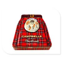 Buy cheap Campbells Metal Tin Container 150g Box With Embossed Lid OEM Accepted from wholesalers