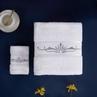 Buy cheap Fishbone Satin Hotel Towel Set Bath Towel Sets Gift Set Woven For Adults from wholesalers