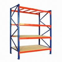 Buy cheap Medium-duty Shelving Rack with Safe Bolt, for Warehouse Display from wholesalers