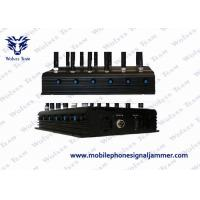 Quality GPS Satellite Mobile Phone Scrambler , Cordless Phone Jammer 24W Total Output for sale