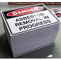 Buy cheap Conductive Coroplast pp corrugated plastic sheet For Outdoor Advertising Sign Board from wholesalers