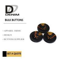Buy cheap Small Coat Garment Buttons Style & Design‎ Unique Bulk For Clothing Brands from wholesalers