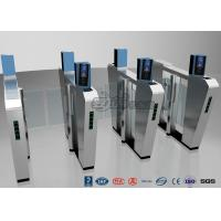 Buy cheap Waist Height Turnstile Security Systems , Face Recognition Speed Fastlane Turnstile from wholesalers