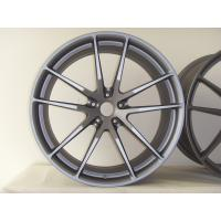 Buy cheap BA37 22 Inch Aftermarket Wheels Custom Monoblock Forged Rims for Land Rover Gun Metal Painted from wholesalers