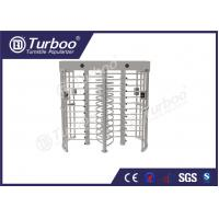 Buy cheap 304 Stainless Steel Turnstiles RFID Card Reader 30 Persons / Min Transit Speed from wholesalers