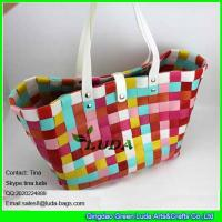 Buy cheap LUDA colorful pp straw weave bag mix AZO Free from wholesalers