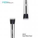 Buy cheap OEM Small Copper Ferrule Flat Angled Kabuki Brush from wholesalers
