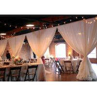 Buy cheap Wedding backdrop decoration Telescopic poles pipe and drape cheap event pipe and drape for sale wedding pipe and drape from wholesalers