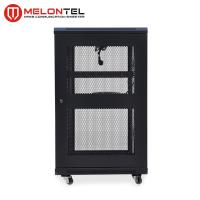 Buy cheap Floor Type 19 Inch Rack Cabinet  MT 6001 , Standing 18U Server Rack Cold Rolled Steel from wholesalers