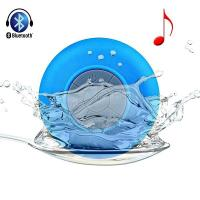 Buy cheap mini Shower Waterproof Speaker Car Mic Handsfree Music Mic Wireless Bluetooth 3.0 Speaker from wholesalers