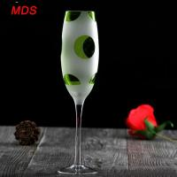 Buy cheap Classical spray painted Europe tableware champagne glass gift from wholesalers