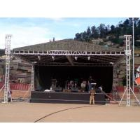 Buy cheap Customer LED Screen Stage Lighting Truss / Alloy Aluminum Tube Truss from wholesalers
