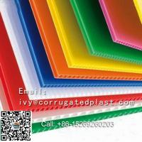 Buy cheap Lowest price corrugated PP sheet/Coroplast/flute Corflute advertising board from wholesalers