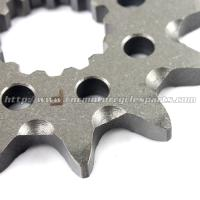 Buy cheap High Precision Dirt Bike Sprockets / Stainless Steel Sprockets With Heat Treatment Process from wholesalers