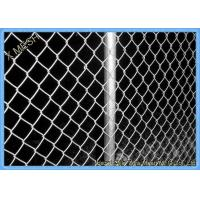 Buy cheap Green Vinyl Coated Chain Link Fence Panel For Farm 5mm Wire Dia from wholesalers